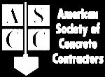 ascconline.org - American Society of Concrete Contractors - logo